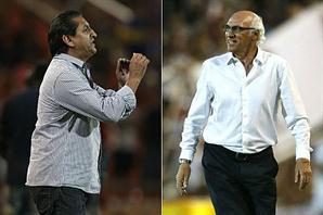 Bianchi y Ramón jugaron su propio partido a partir de las ironías - Archivo