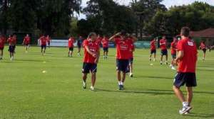 Independiente se entrena en Pilar.