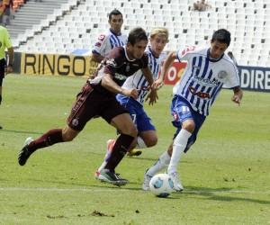 Castro, volvería a la titularidad en el Tomba (Foto Télam).