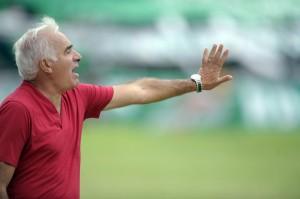 Mario Gómez piensa en el ascenso (Foto: Télam)