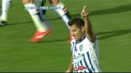 Sánchez festeja el gol